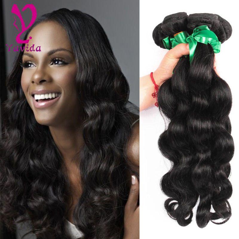 7a Unprocessed Virgin Hair Brizilian Body Wavy Hair Human Hair Weave