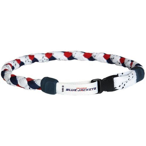 Columbus Blue Jackets Jersey Necklace - Navy Blue/Red/White