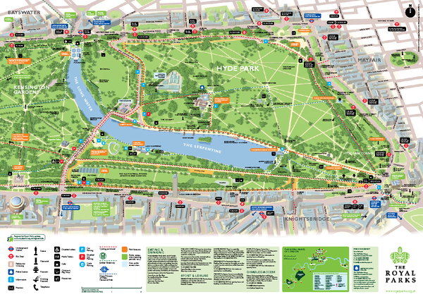 Hyde Park London Map Fullsize Hyde Park Map | England in 2019 | Hyde park london, Hyde