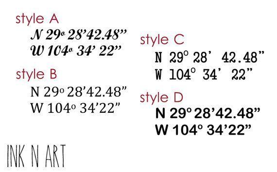 Bildergebnis Fur Coordinate Fonts