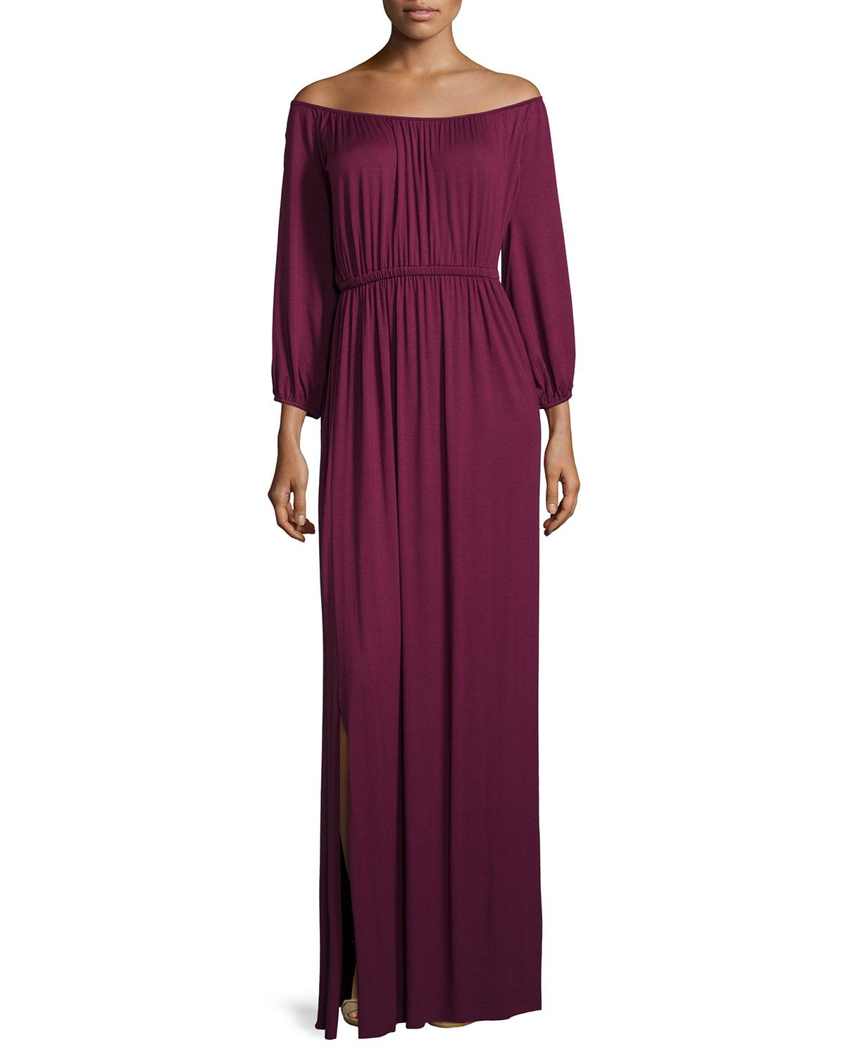 Freya off the shoulder maxi dress cabernet rachel pally freya off the shoulder maxi dress cabernet rachel pally rachel pallybridesmaid dressesmaxi dressesneiman marcusmaxisshoulderclotheswomens fashion ombrellifo Choice Image
