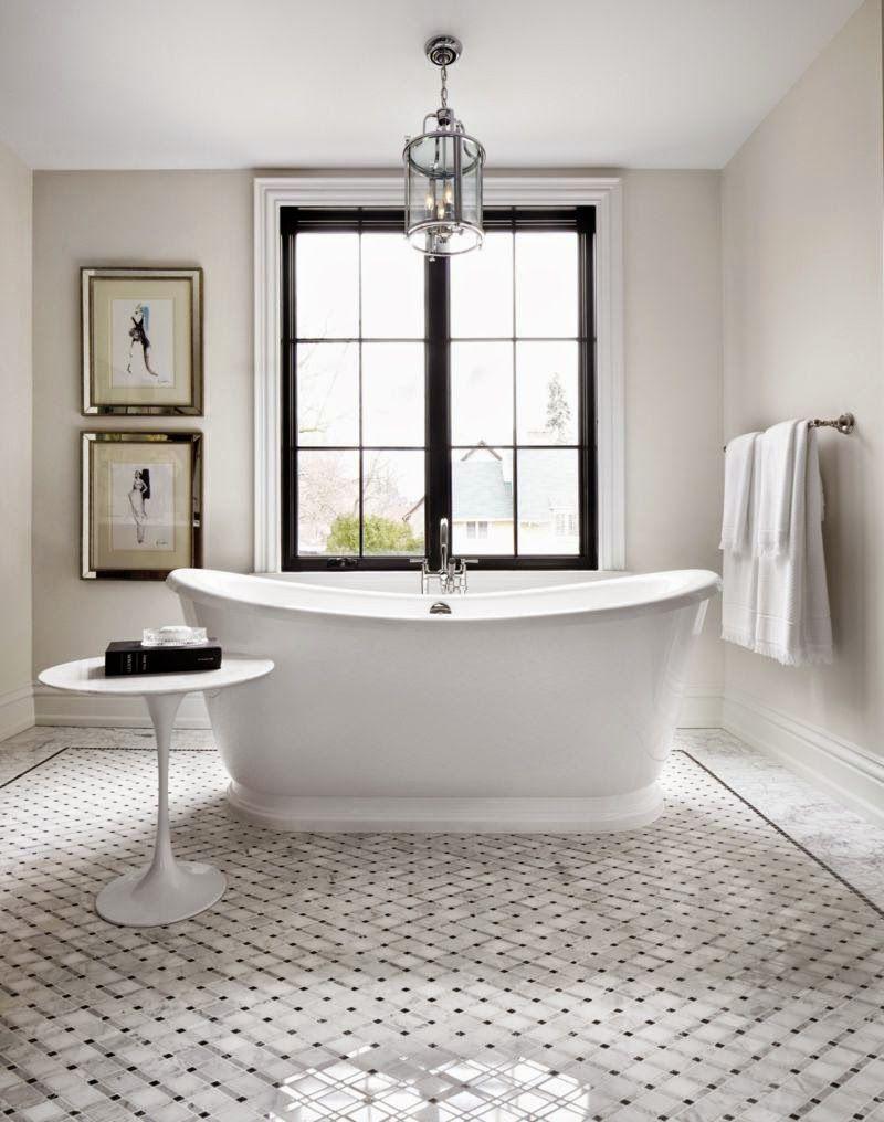 Benjamin Moore Edgecomb Gray Color Spotlight Bathroom Design Beautiful Bathrooms Trendy Bathroom