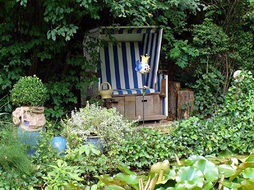 strandkorb i love it gardening garten garten ideen und strandkorb. Black Bedroom Furniture Sets. Home Design Ideas