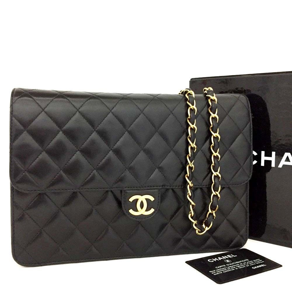 5a7a1400e619f CHANEL Quilted Matelasse 25 CC Logo Push Lock Lambskin Chain Shoulder  Bag n237  fashion  clothing  shoes  accessories  womensbagshandbags (ebay  link)