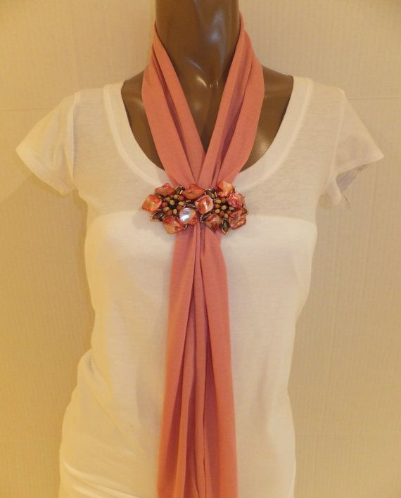 Scarf Statement Scarf LINDSEY Women's Scarf by BellaCescaBoutique, $30.00