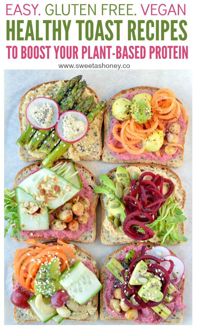 6 Delicious Healthy Toast Recipes To Eat For Lunch Vegan