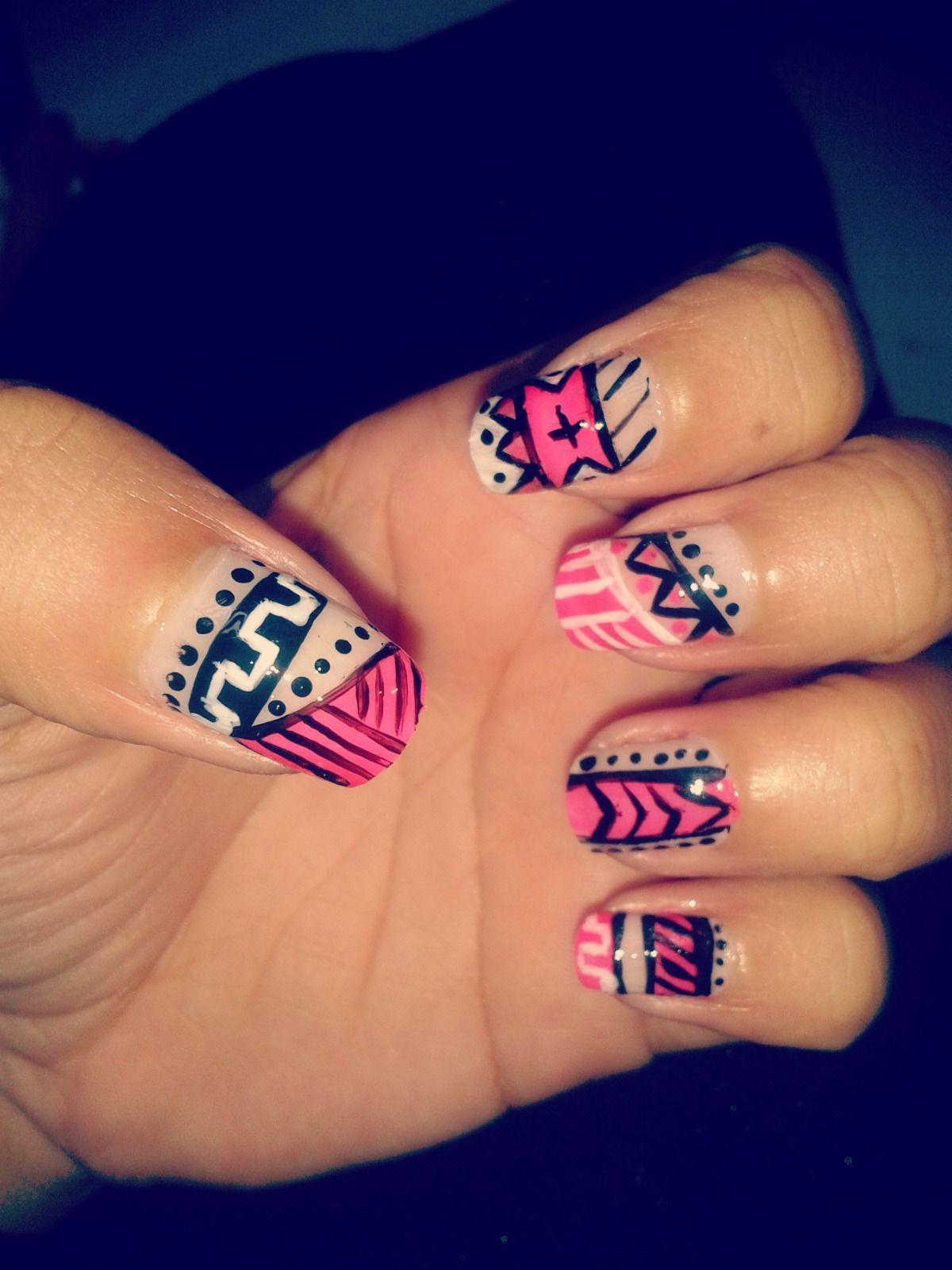 Ethnic nails!!! - Uñas etnicas!!! | Ideas de inspiración | Pinterest ...