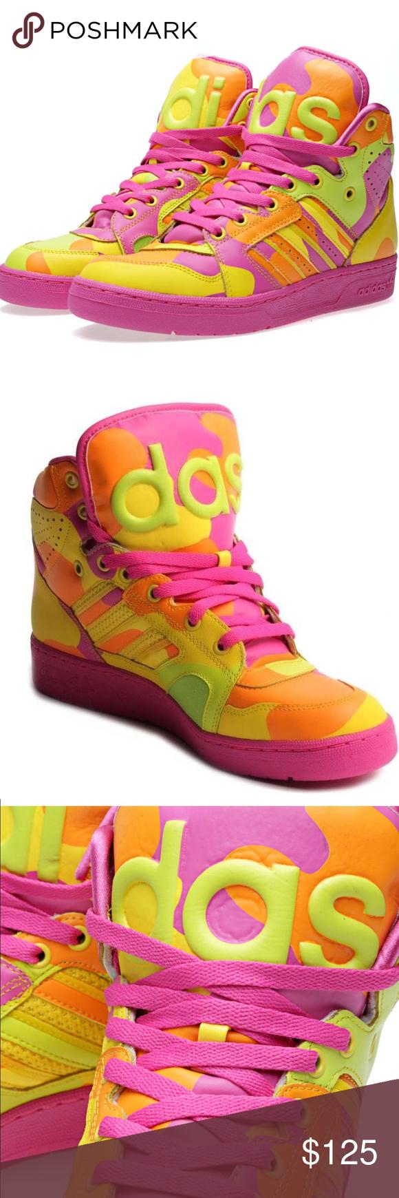 sports shoes e68cf 98685 RARE ADIDAS JEREMY SCOTT INSTINCT HI NEON CAMO The latest re-design of the  hugely