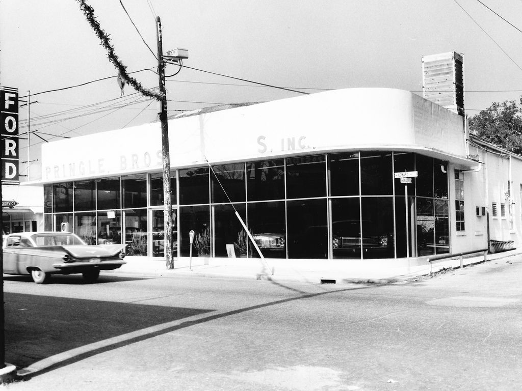 1965 Pringle Bros. Ford Dealership, Biloxi, Mississippi