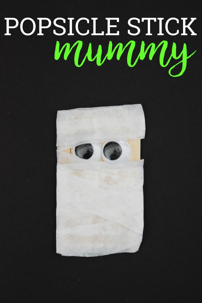 Photo of Popsicle Stick Mummy | Halloween Craft for Kids | This Girl's Life Blog