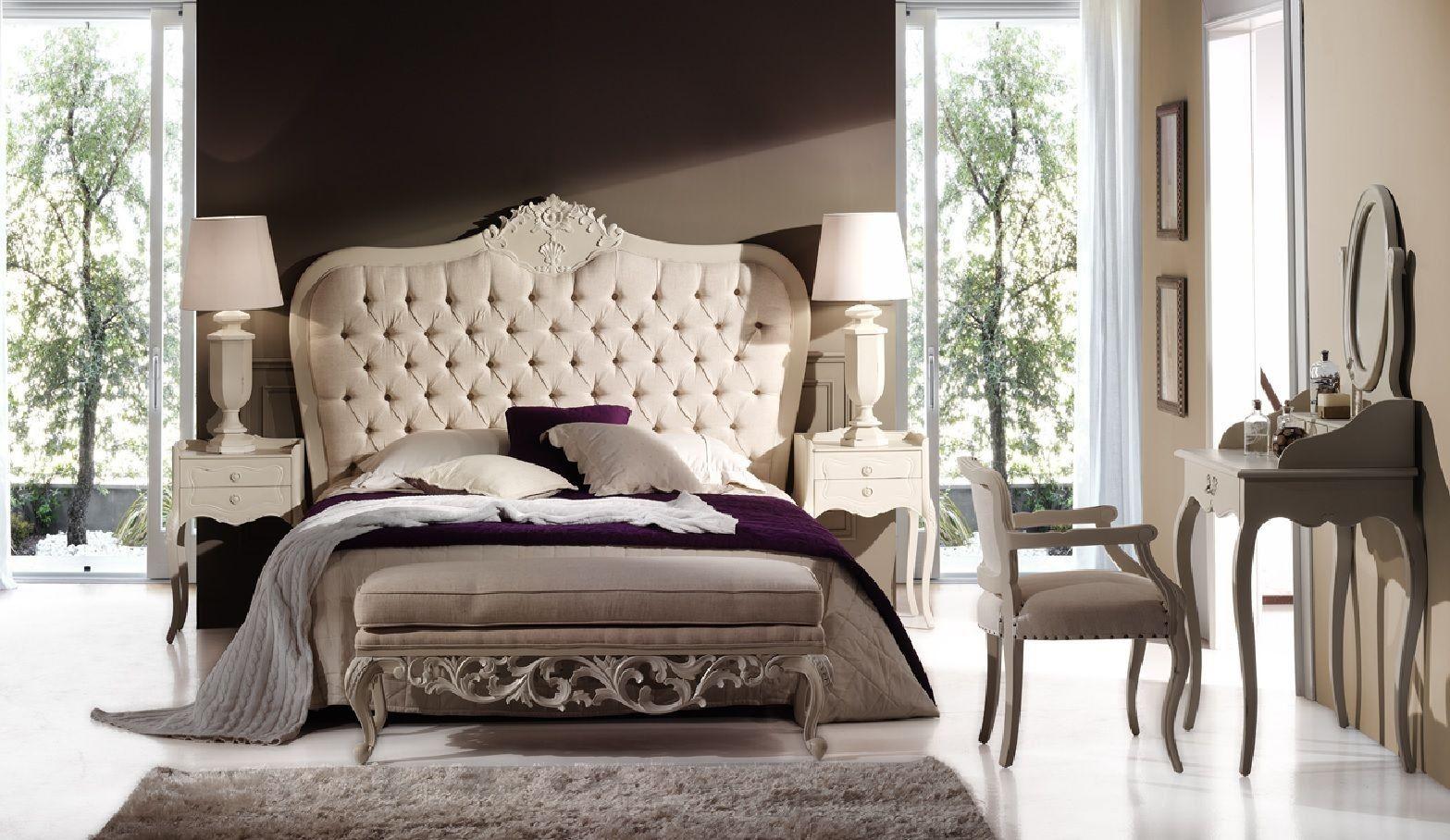 Dormitorio clásico blanco Robert Ambar