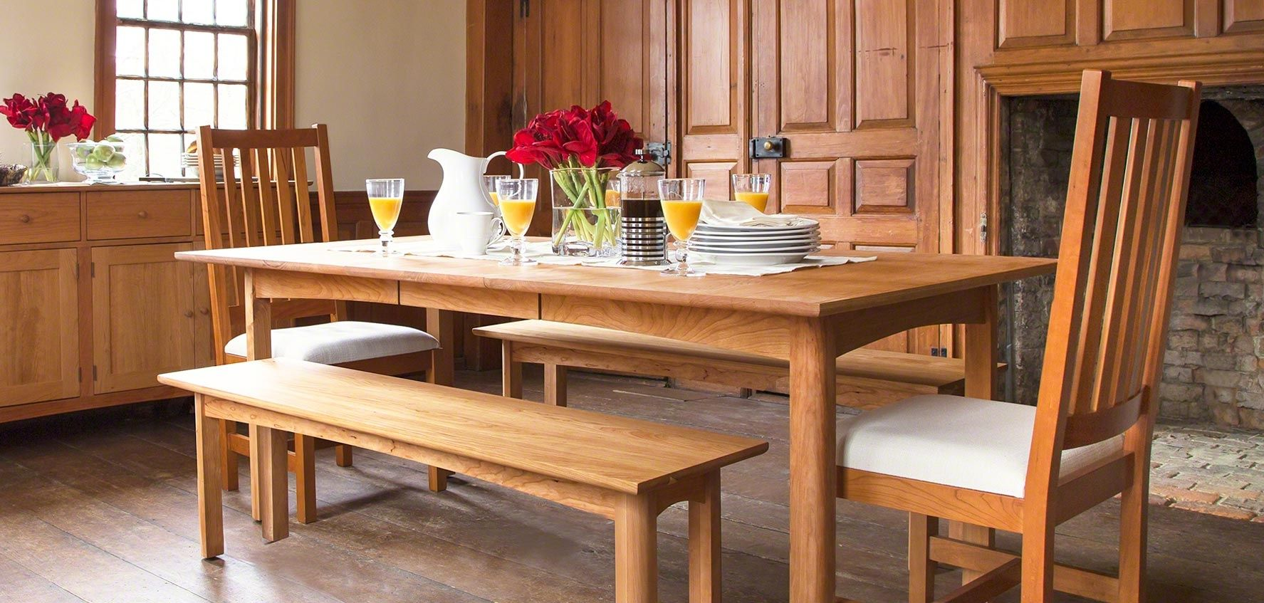 Shaker Style Dining Room Table Dining Room Chairs Modern Dining Table Solid Wood Dining Table