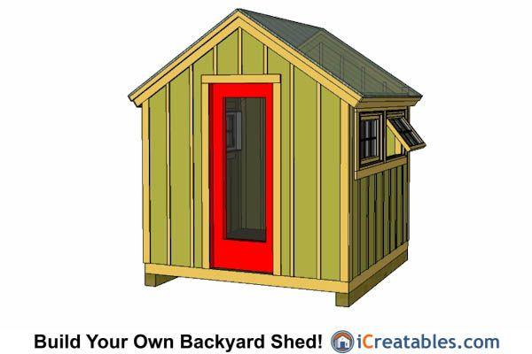 With Our 8x8 Greenhouse Shed Plans You Can Easily Get Your Shed