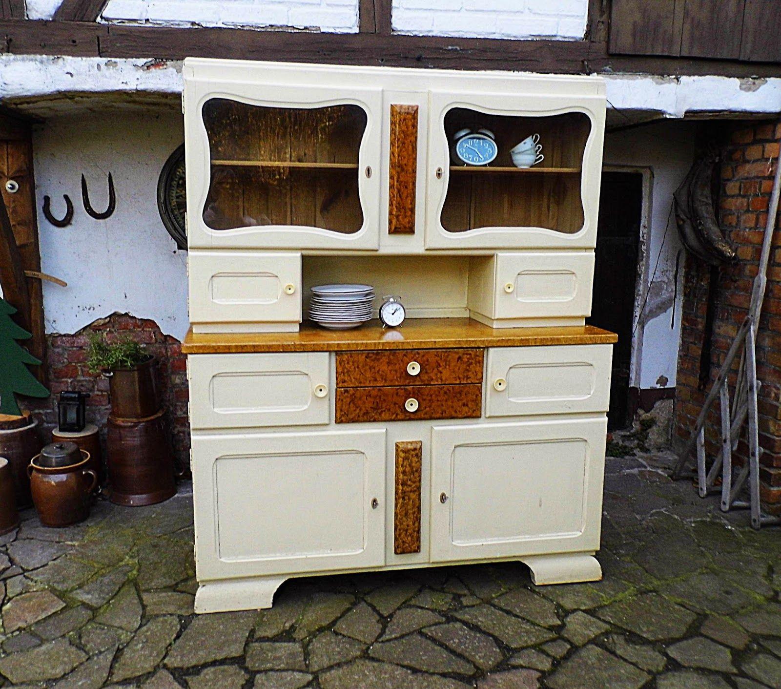 GerneWieder.GbR : #Vintage #Küchenbuffet #kredenz #cottagechic ...
