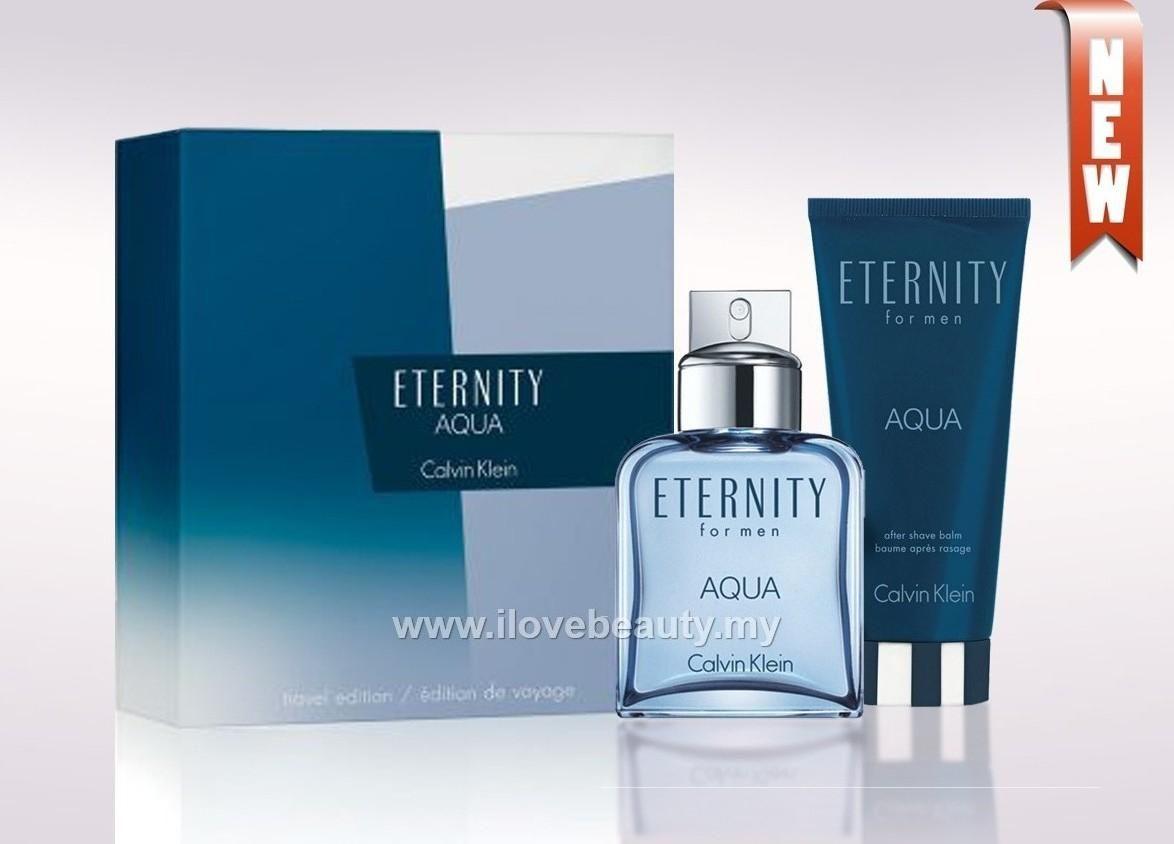 Calvin Klein Gift Set Eternity Aqua By Calvin Klein