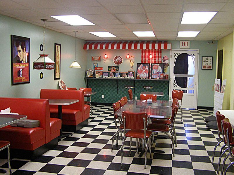 Vintage ice cream parlor bar pixshark images