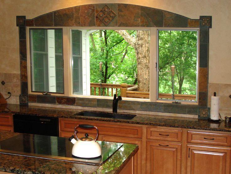 Kitchen Backsplash Window perfect kitchen backsplash around window and more on design
