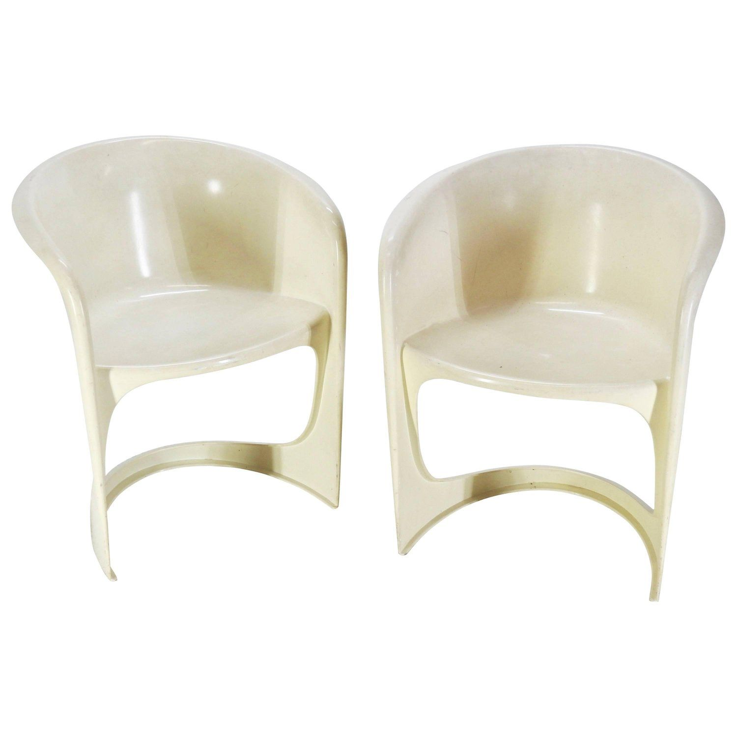 cado mid century modern molded chairs by steen ostergaa mid