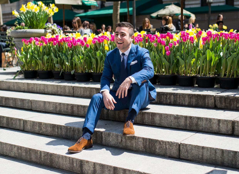Black Lapel Review Suit Fit Pictures Best man's outfit