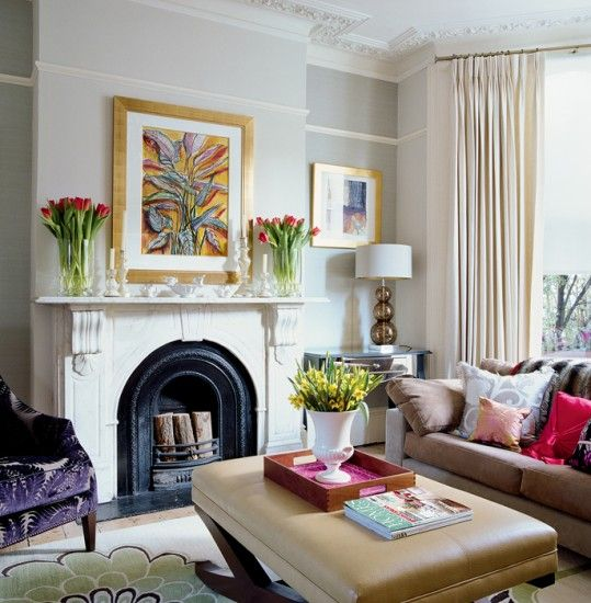 Charming Osborne And Little Rooms | Colourful Living Room | Living Room Design |  Decorating Ideas | Image .