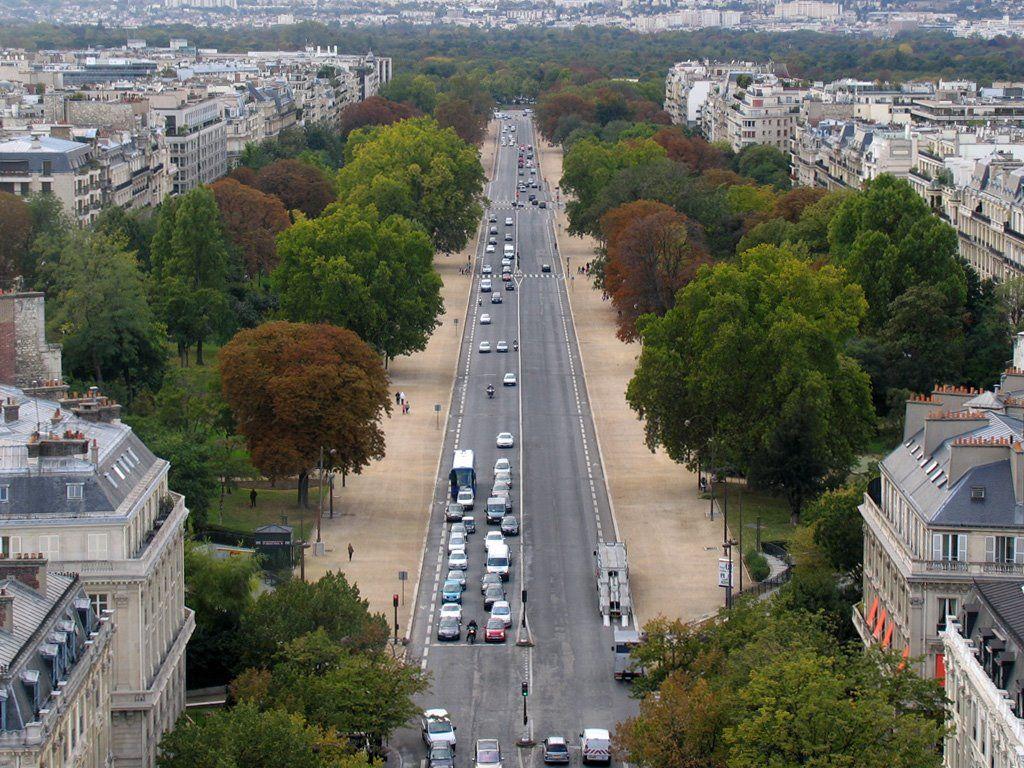 Avenue Foch - Paris 10/2008 | Places I have travelled- exact spots ...