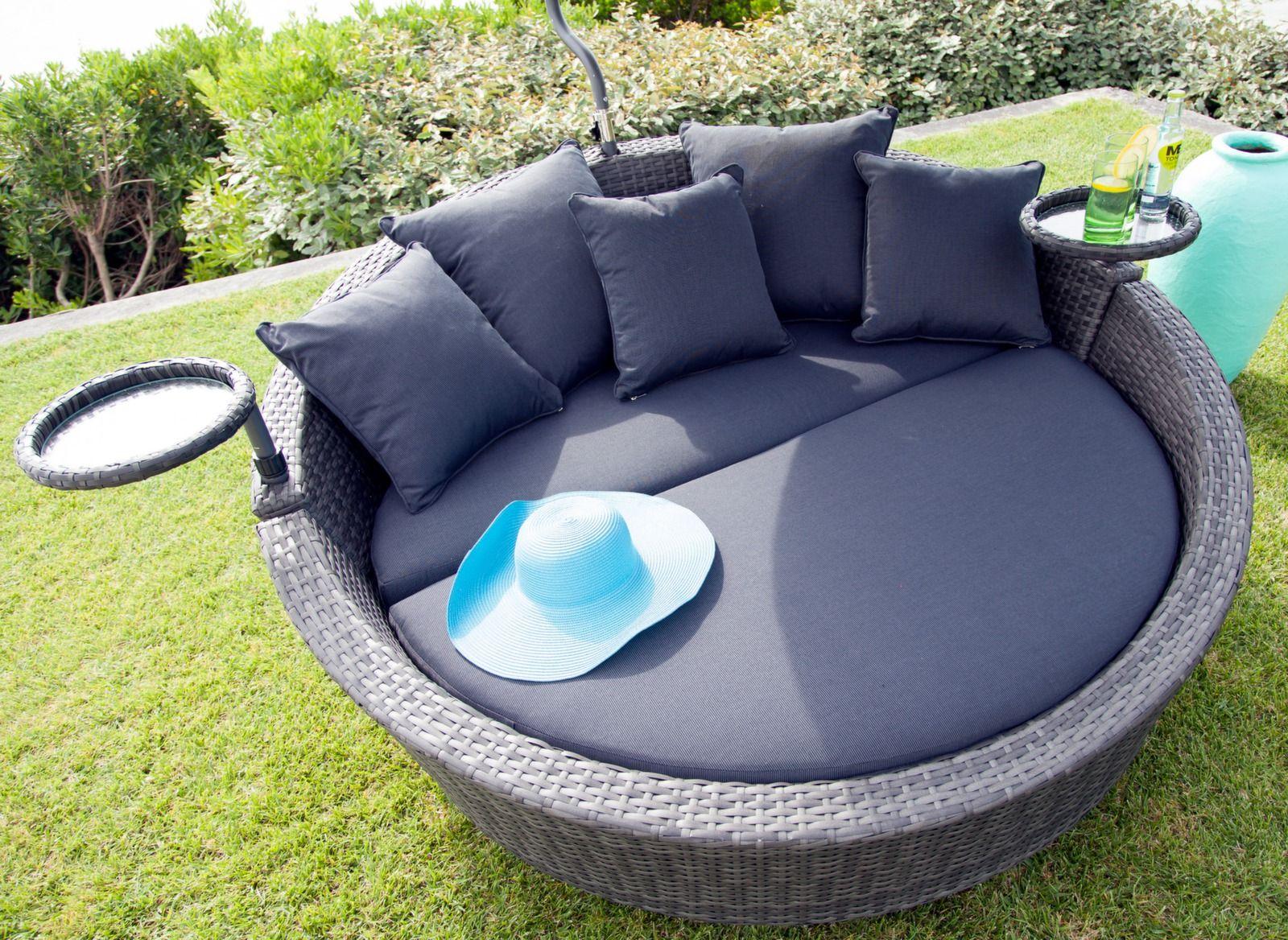 Canapé lit de jardin Melrose - Mobilier de jardin - Proloisirs ...