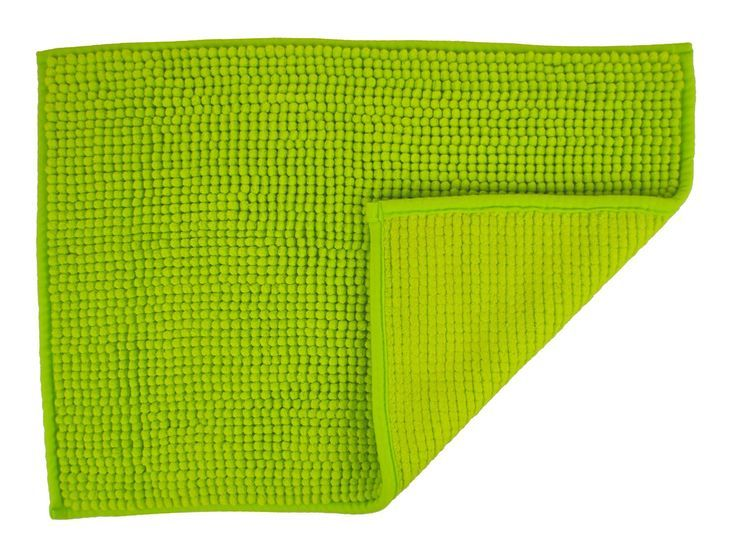 Lime Green Bath Mats To Add Color In Your Bathroom Green