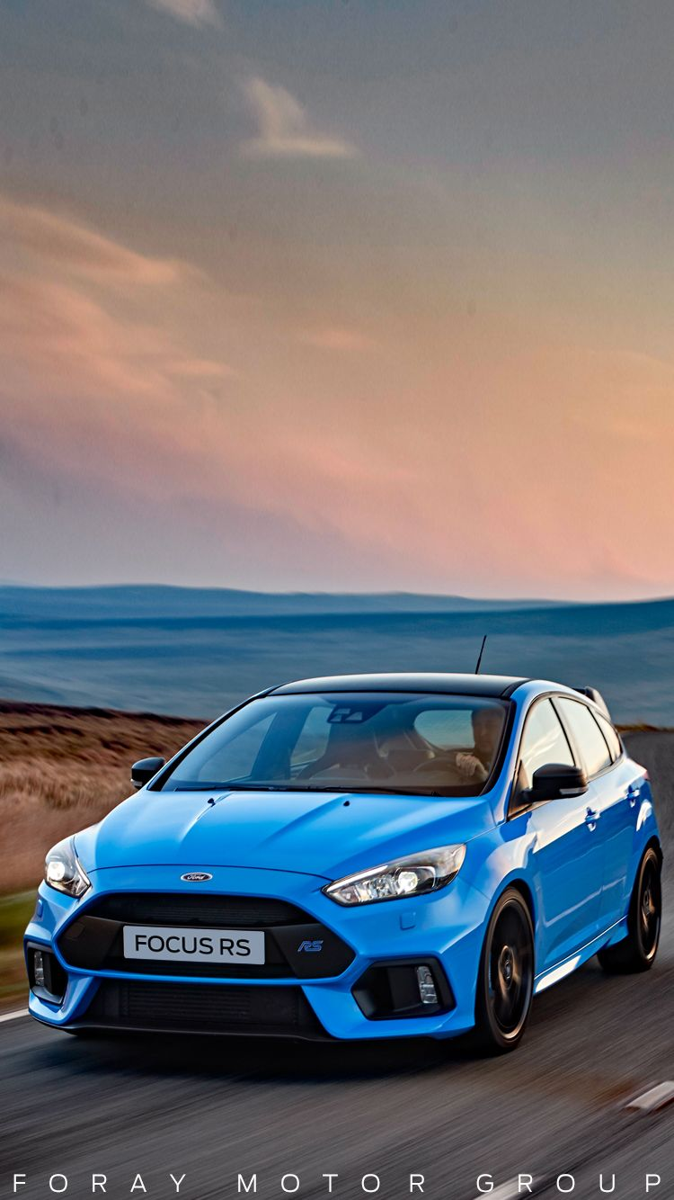 Ford Focus Rs Blue : focus, Universal, Super, Sports, Phone, Wallpapers/, Backgrounds, Nitrous, Focus, Iphone, Samsung, Focus,, Hatchback