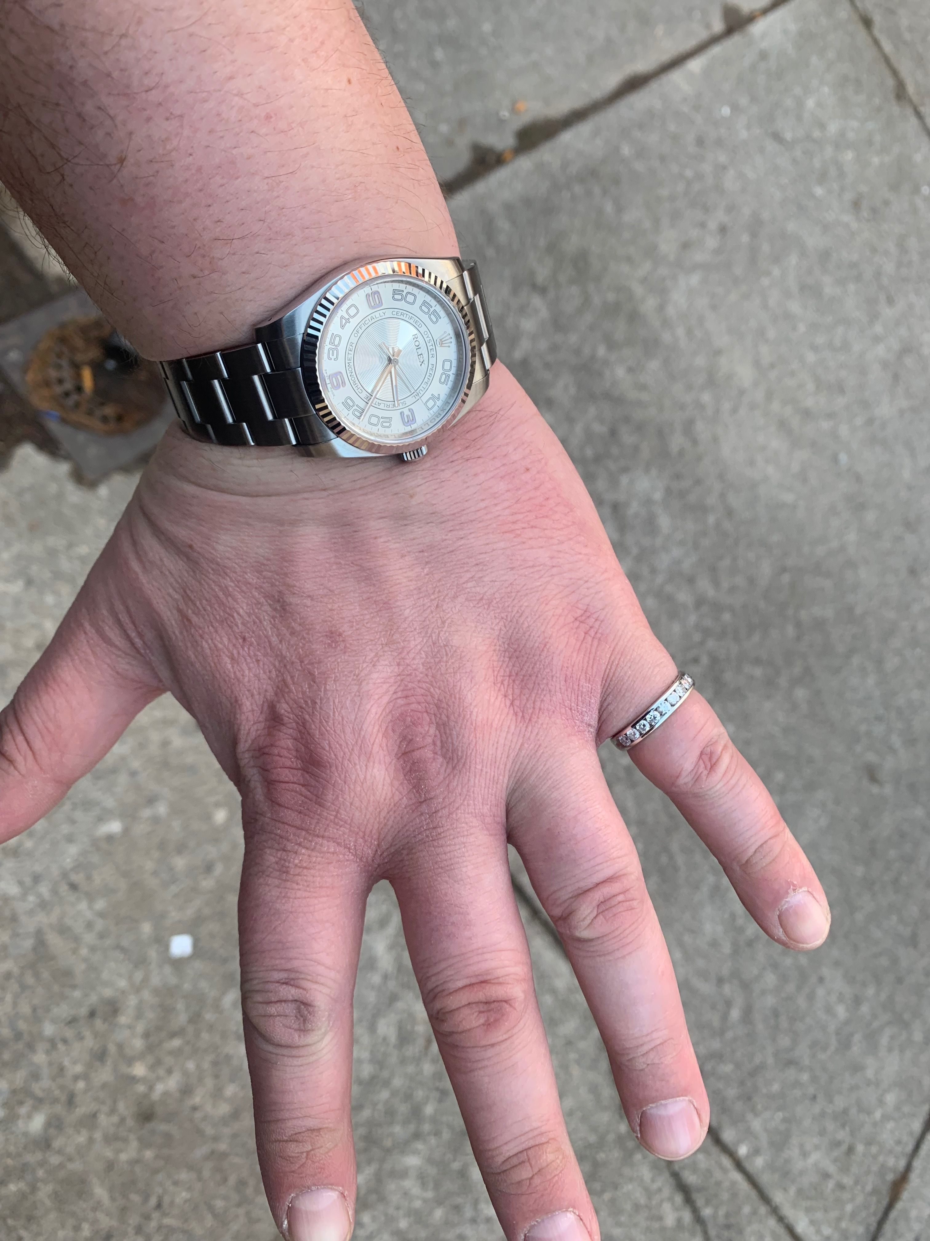 Men Wearing Eternity Rings Not For Just For Women Eternity Ring Rings How To Wear