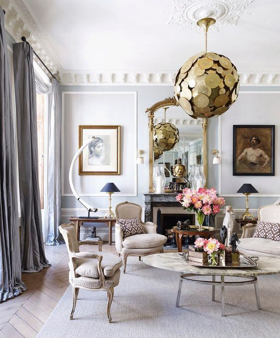 50 Favorites For Friday Elle Decor Living Room Paris Living Rooms Paris Living Room Decor
