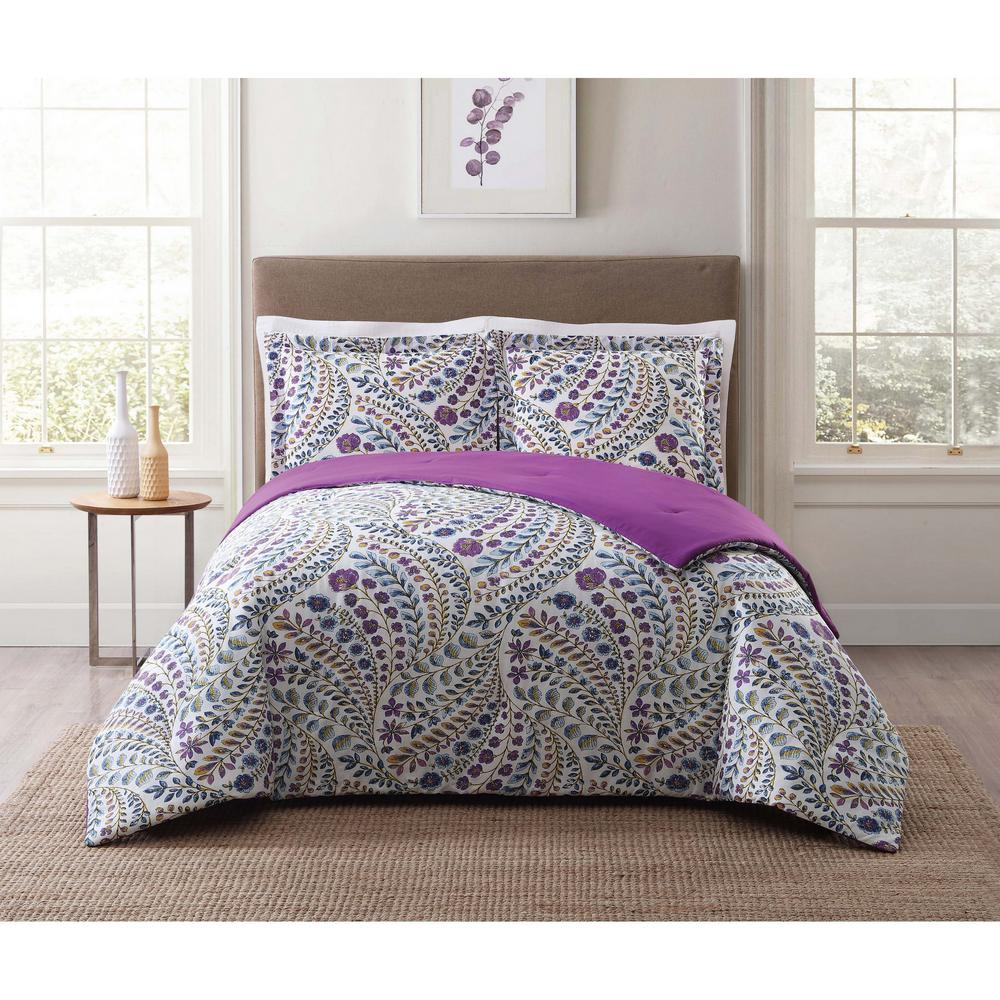 Style 212 Nealy Floral King Comforter Set CS1793KG1500