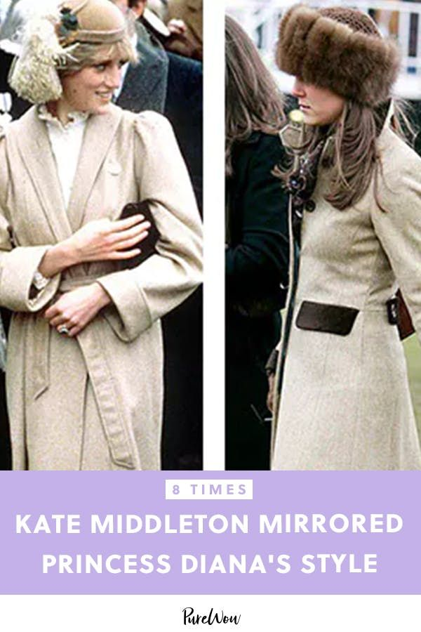 10 Times Kate Middleton Channeled Princess Diana's Epic Style #princessdiana
