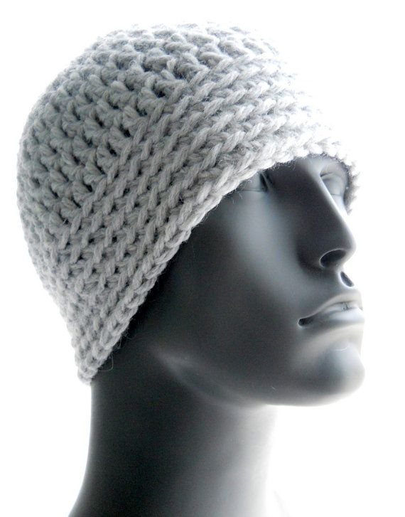 CROCHET PATTERN: The Chunky Guy Beanie for Men, Crochet Hat Pattern ...