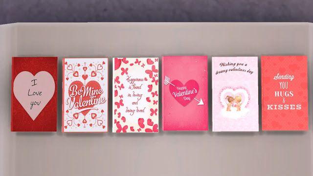 Sims 4 Custom Content Cc Download Valentine S Day Gift Set Sims 4 Custom Content Sims 4 Sims 4 Seasons