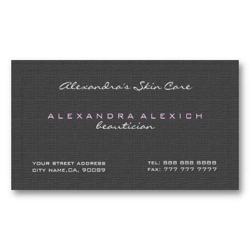 Plain Black White Simple Linen Texture Business Card Zazzle Com Business Card Texture Business Card Design Business Card Template