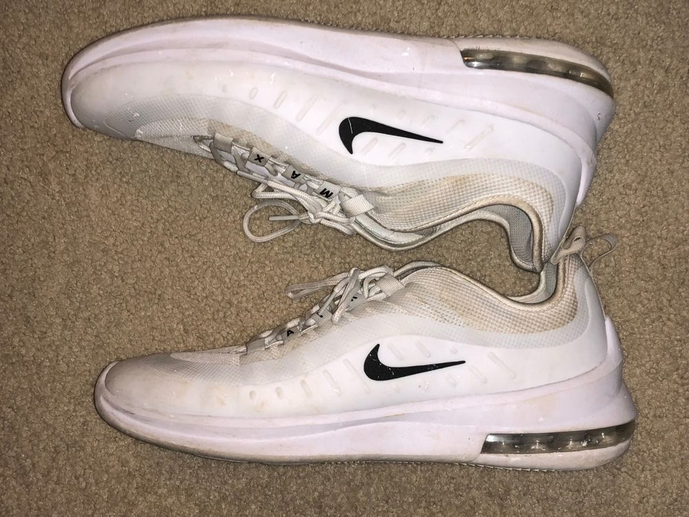 verse bien zapatos venta Nuevos objetos mejor coleccion Nike Air Max Axis White Black Running Shoes Men Size 11 #fashion #clothing # shoes #accessories #m… | Running shoes for men, Hiking shoes women, Black  running shoes