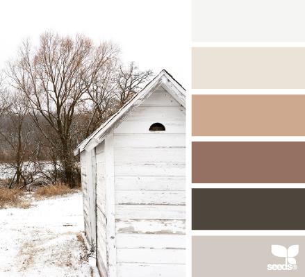 Rustic Winter Design Seeds Farbkombinationen