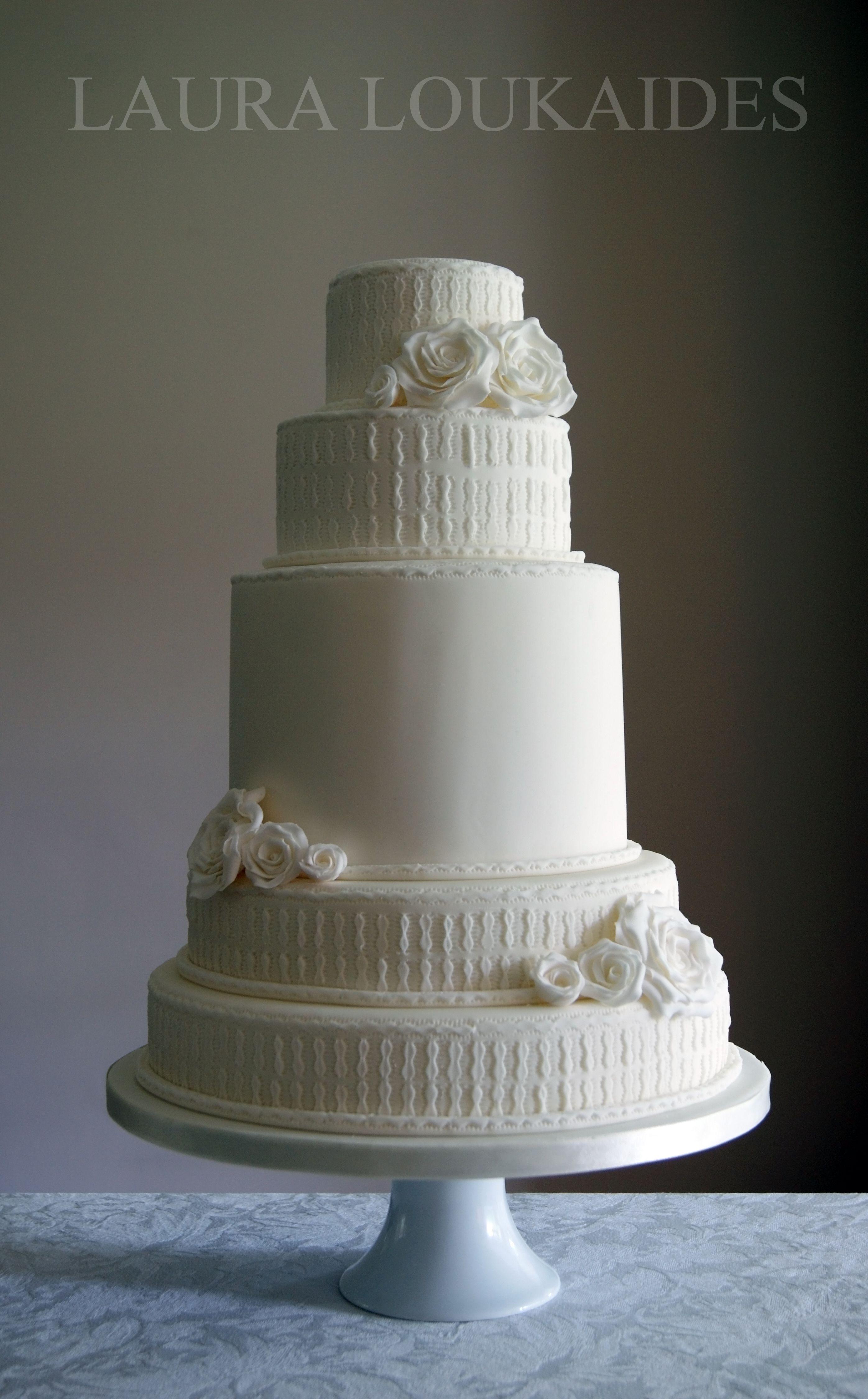 """White Wedding Cake"" by Laura Loukaides"