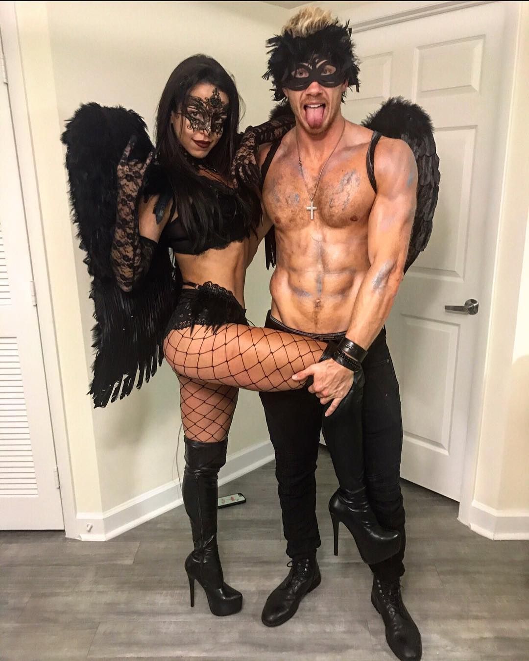 Fetish Couples In Costume