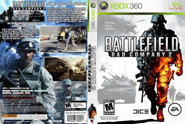 Xbox 360 Battlefield Bad Company 2 Con Imagenes Xbox
