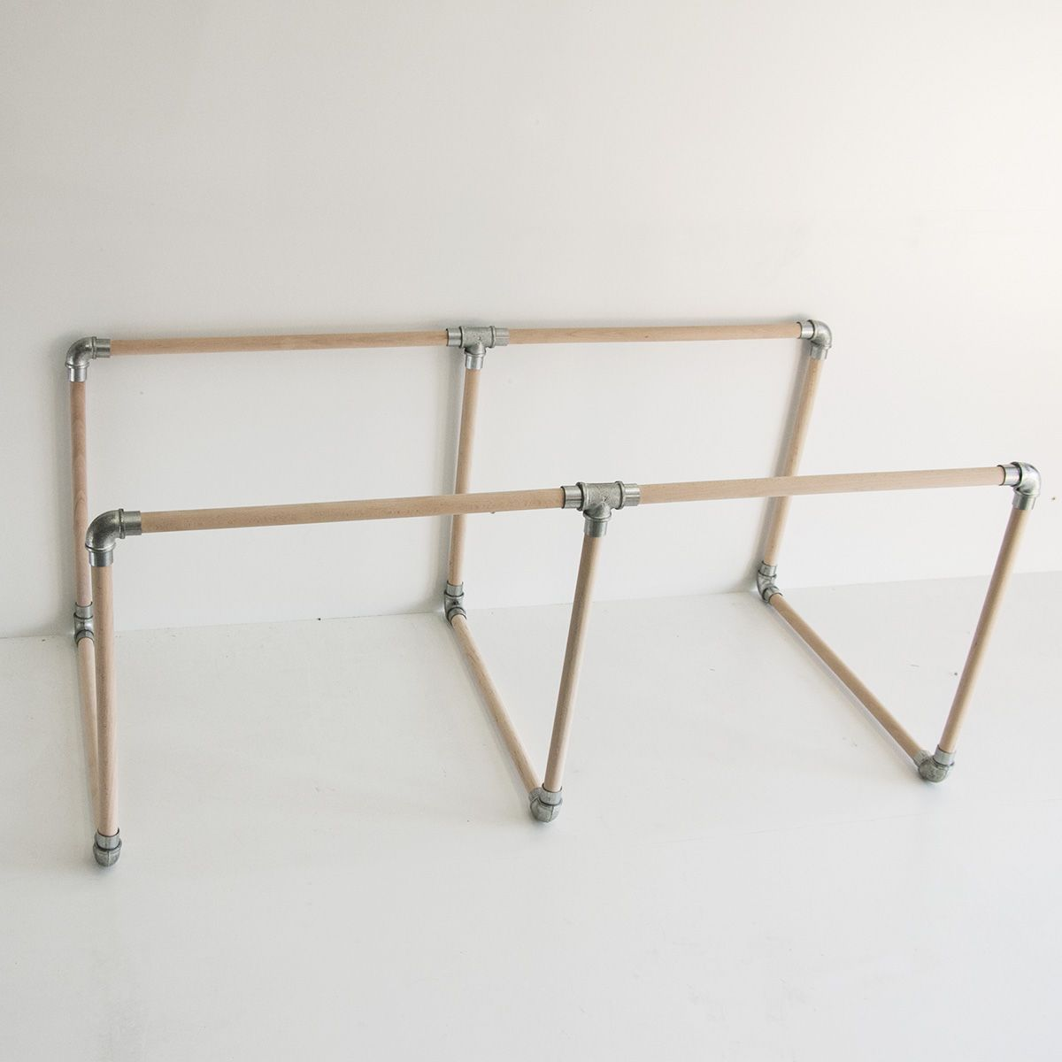 Image result for pipe fitting and dowel furniture woodwork diy ideas pipes pipe decor diy woodworking