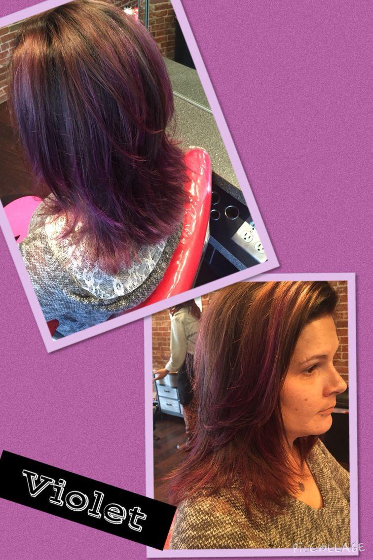 Violet tones Stylists, Hair, Salons