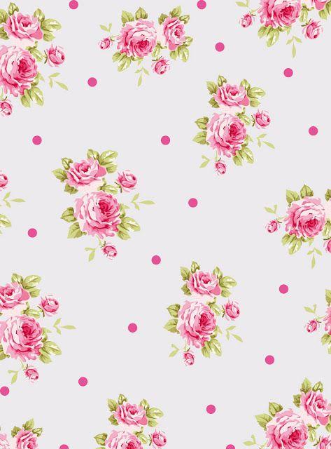 Wallpaper Vintage Floral Estampas Estampas Florais Imagem Floral