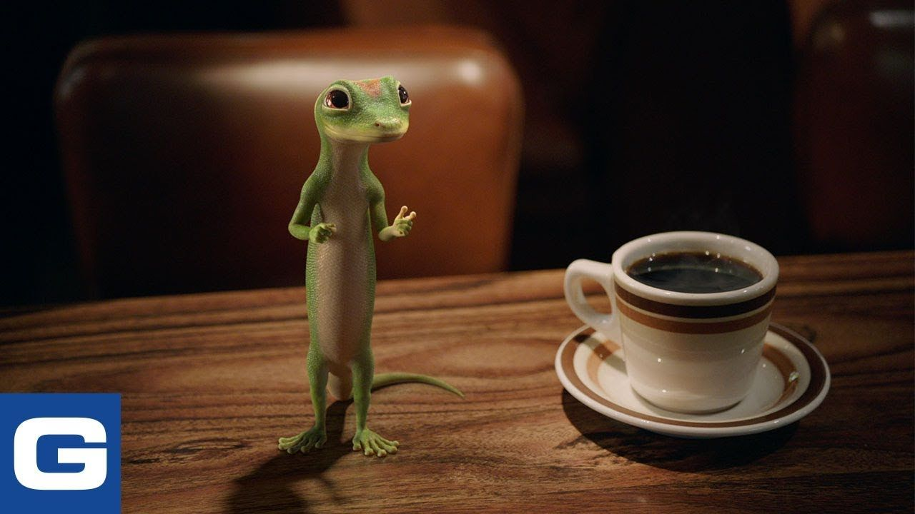 The Gecko Visits A Diner Geico Insurance Cheer Music Brand