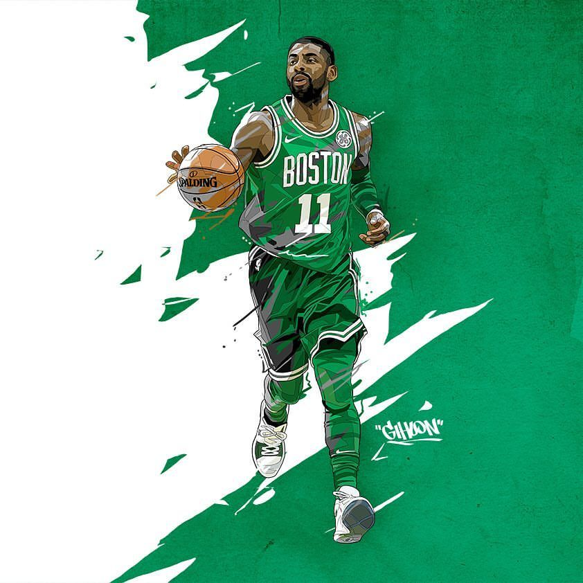 115 Likes 4 Comments 홍기훈 Incobillust On Instagram 카일리 어빙 Kyrie Irving Kyrieirving Celtics Bost Kyrie Irving Celtics Irving Wallpapers Basketball Art