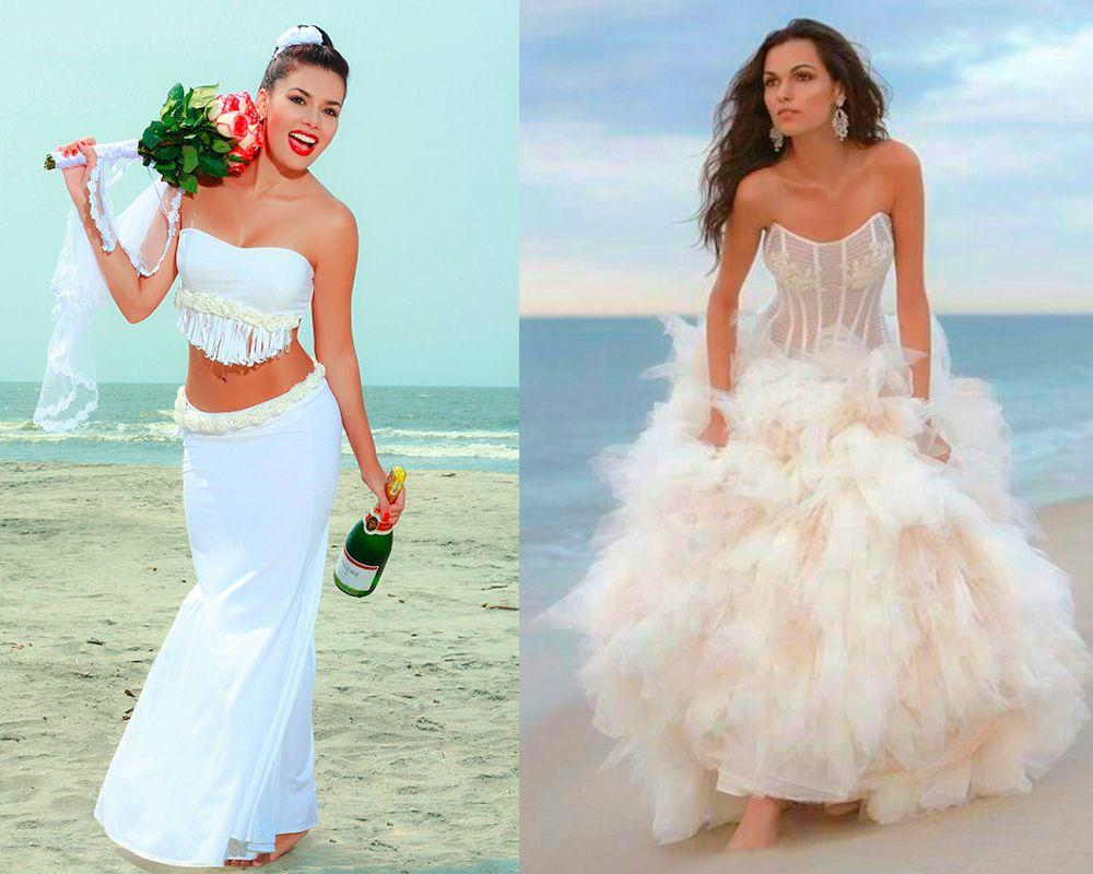 Ideas originales Como Elegir Vestidos para Bodas en la Playa ...