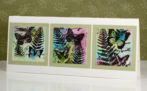 butterfly border  butterfly cards cards handmade card art