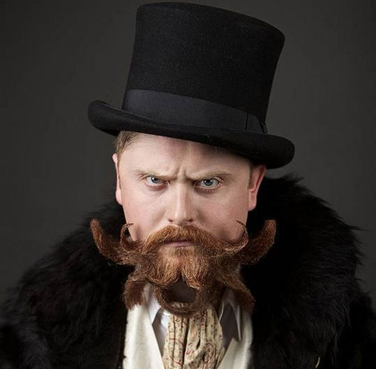 Checkout 10 #Fanciest Entries from 2014 #World Beard And #Moustache Championships