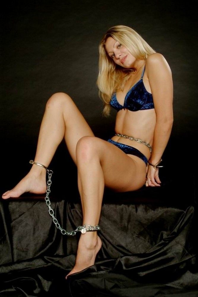 Cuffs amp Shackles  Customized Stainless Steel Chastity