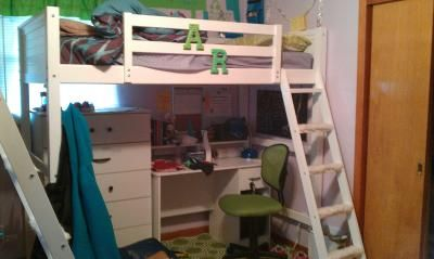 Customer Reviews Your Zone Zzz Collection Loft Bed Multiple Colors Walmart Com Loft Bed Bed New Room